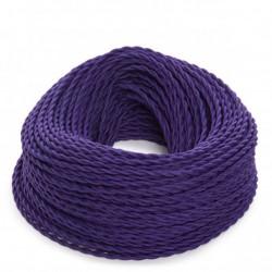 Purple Fabric Twisted...