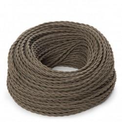 Khaki Fabric Twisted...