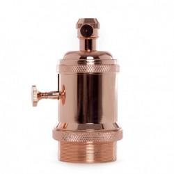 Lampholder E27 Copper...