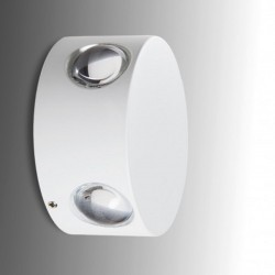 4x1W LED Outdoor Wall Light