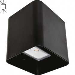 LED Outdoor Wall Lamp Black